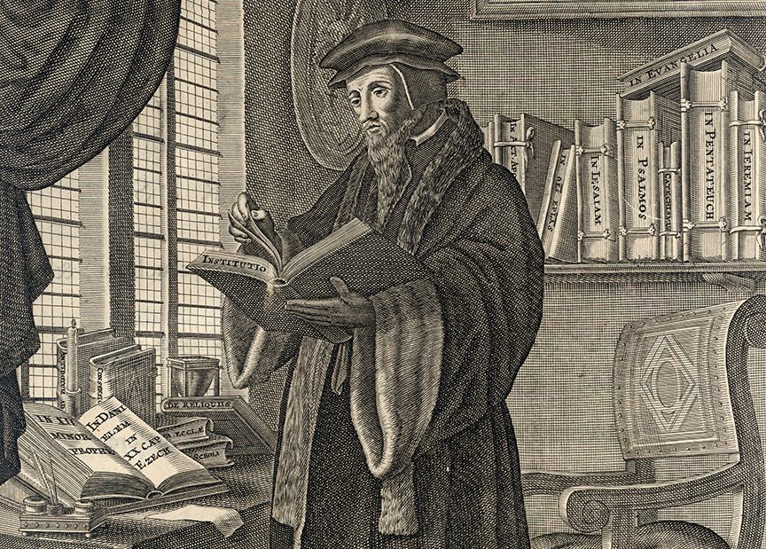 john calvin and martin luther John calvin: john calvin working through the whole new testament except the revelation to john and most of the old unlike martin luther, calvin was a.