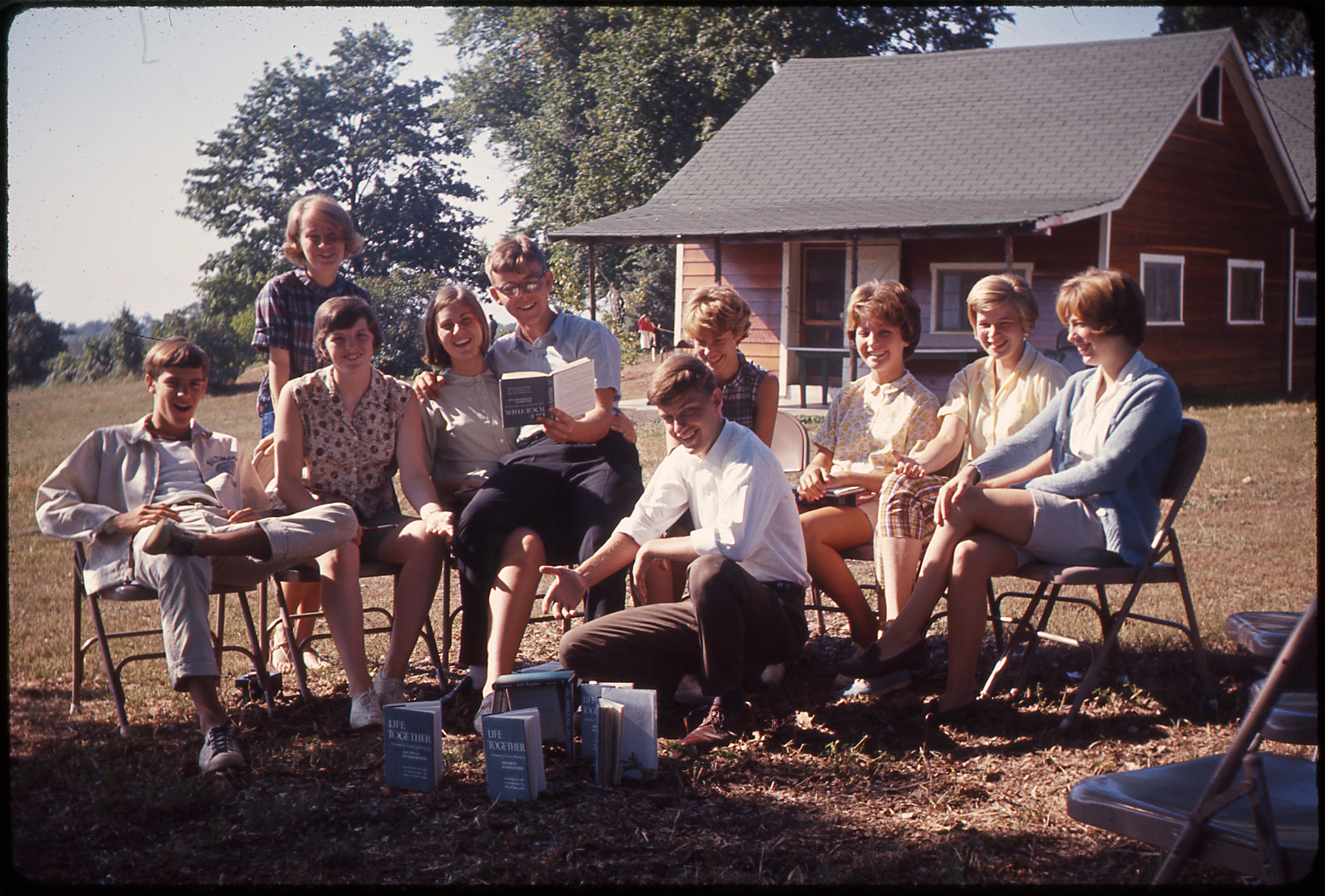 Life Together, Happy Valley Camp (Port Deposit, Md.), 1964. From Slides B141.