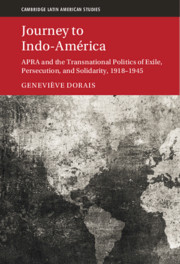 Cover image for Journey to Indo-America